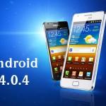 Samsung Galaxy S2 için Android 4.0.4
