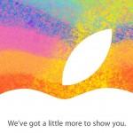 iPad Mini geliyor. 23 Ekim 2012