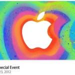 Apple Yeni ürün tanıtım etkinliği – Ekim 2012 (Full Video 1 saat 12 dk.)