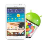 Samsung Galaxy Note 1 (N7000) için Android 4.1.2 Jelly Bean