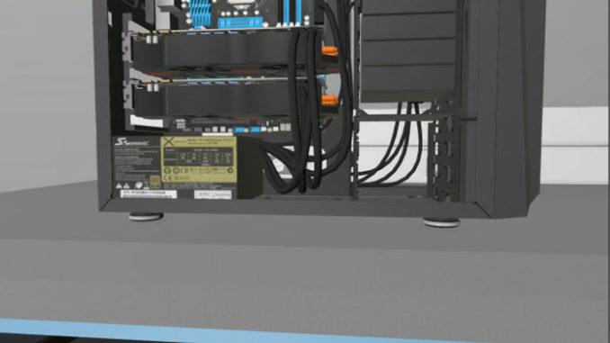 Bilgisayar Toplama Simulatör Oyunu