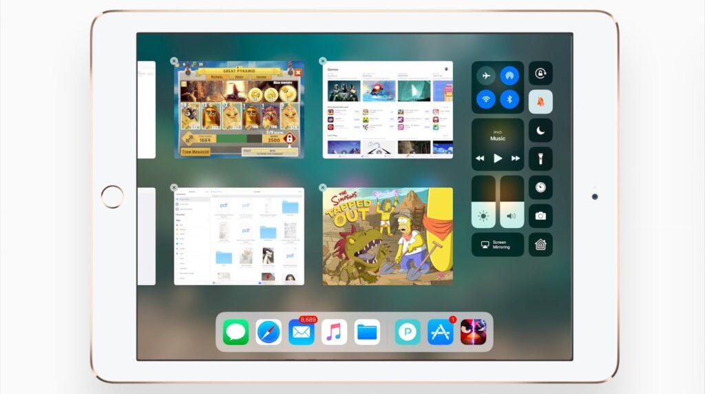 iOS-11 ipad