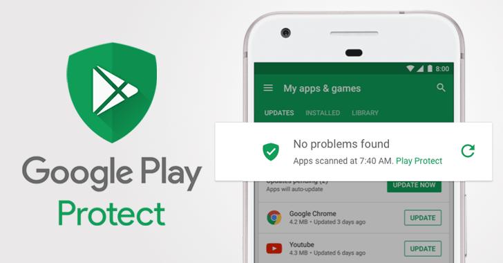 Android Güvenliği için Google Play Protect