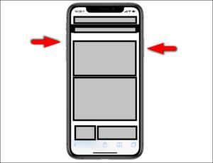 iphone x ekran goruntusu nasil alinir